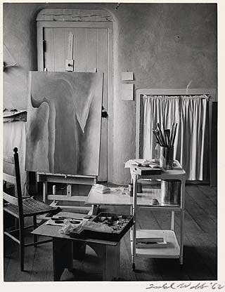 Georgia O'keeffe's studio at Ghost Ranch.