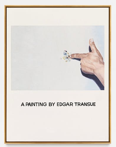 One of John Baldessari's Commisioned Paintings from 1969.