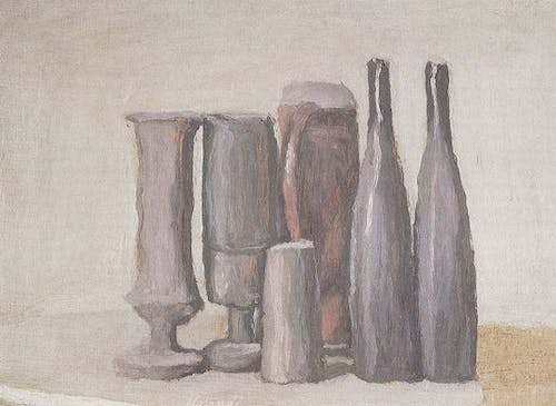 Giorgio Morandi, Natura morta, 1947 Oil on canvas: 31.8 x 43.7 cm.