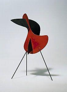 Big Bird, 1937, Image via Calder Foundation