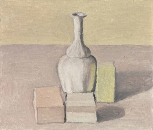Giorgio Morandi, Still Life, 1957, oil on canvas.
