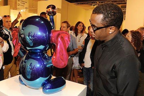 Sean Combs at art Basel Miami
