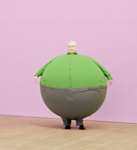 Erwin Wurm's, The Artist Who Swallowed the World.