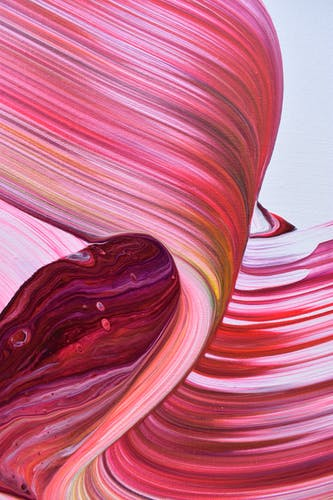 A close up shot of Alex Voinea's artwork AV 588, 2019.