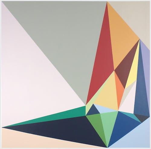 Malwina Puszcz, #3672684, 2020, Acrylic on Canvas 80 × 80 cm 31 3/8 × 31 3/8 in.