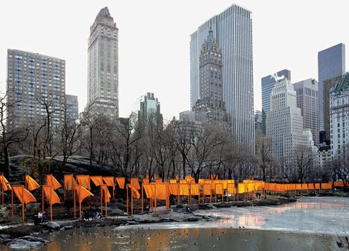 Christo and Jeanne-Claude The Gates, Central Park, New York City, 1979-2005.