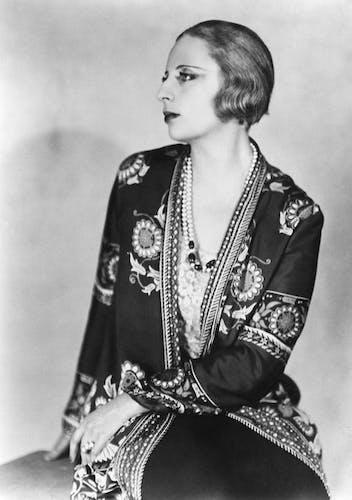 Tamara Lempicka in the 1930s, studio lorelle, Getty images.