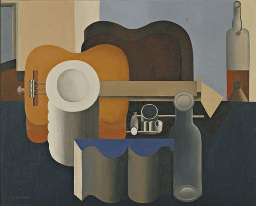 A Corbusier painting form the 1920's.