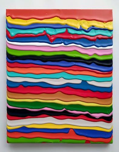 Derick Smith, LITTLE GIANT, 2021, Acrylic on Canvas 40 × 50 cm 15 ⅝ × 19 ⅝ in