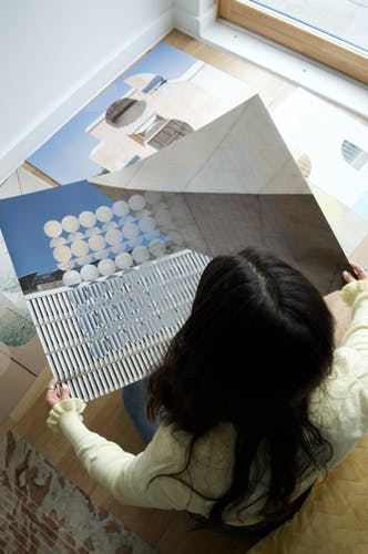 AVENIDA DA BOAVISTA, 2020 Edition of 5  Photography collage on giclee print 84 × 59 cm 33 × 23 ¼ in.