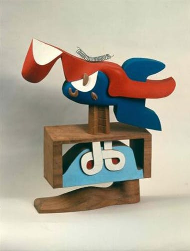 One of Le Corbusier's sculptures.