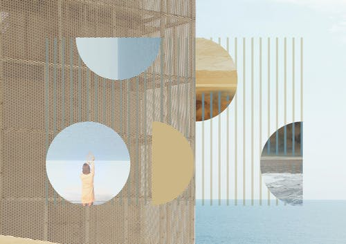 Sonia Bensouda, ULICA VLAHA BUKOVCA, 2020 Edition of 5  Photography collage on giclee print 84 × 59 cm 33 × 23 ¼ in.