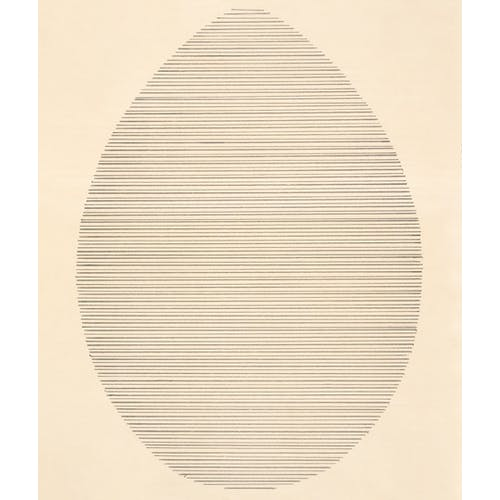 The Egg, 1963 by Agnes Martin