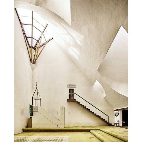 Image: Serefudin's White Mosque in Visoko, Bosnia, by architect Zlatko Ugljen