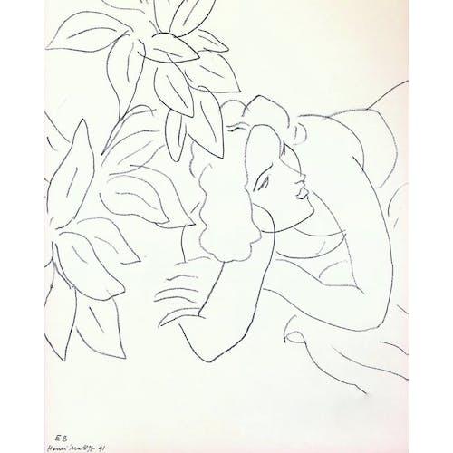 Image: Portrait de femme by Henri Matisse, 1941
