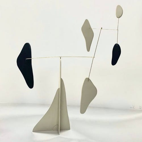 Kinetic sculpture by Alexander Calder