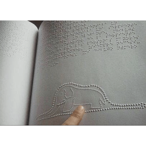 Elephant in the snake, Le Petit Prince, Saint Exupery, Braille